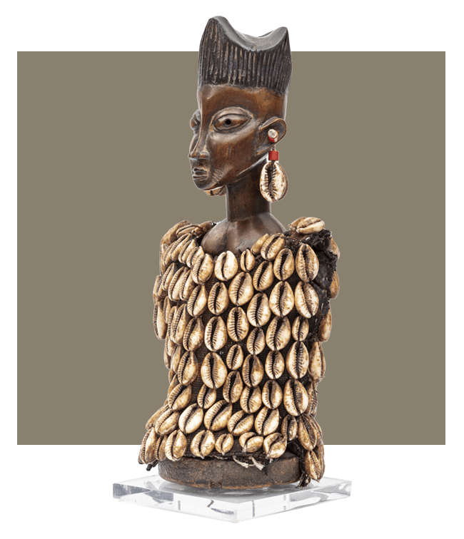 Early 20th Century Yoruba Female Ere Ibeji Figure